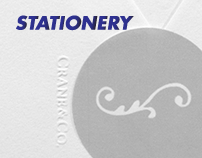 Stationery - a selection of printed paper products