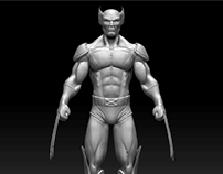 Zbrush Wolverine sculpt