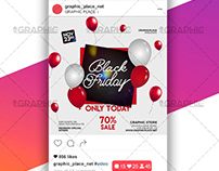 Black Friday – Animated Flyer PSD Template