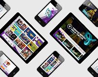 YTV GO app design