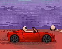 Elon Musk Car On Mars