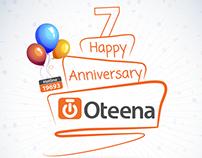 Oteena Anniversary Seven