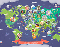 Family Travel Map