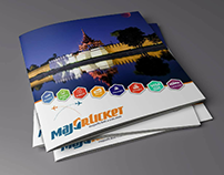 Majorticket Company Profile Design