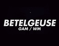 Betelgeuse (video mapping)