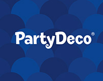 PartyDeco - Rebranding