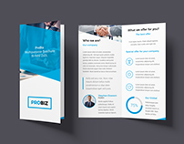 ProBiz – Business & Corporate Brochure Bi-Fold (2xDL)