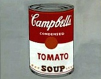 Study of a Andy Warhol's Campbell's Soup
