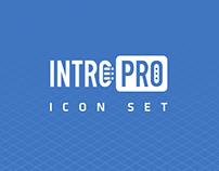 Presentation icon set: IntroPro