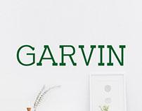 Free Garvin Slab Serif Demo Font