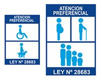 Señalética BBVA - Atención Preferencial 2013