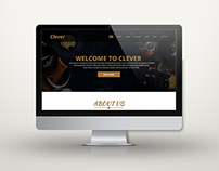 Clever Restaurant PSD Template