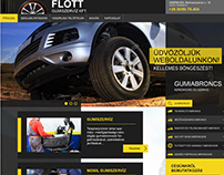 Flott auto tires webdesign