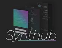 Synthub - Mobile App Design