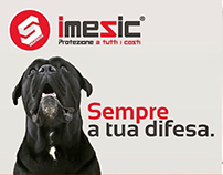 Logo design e campagna pubblicitaria per imesic