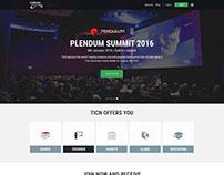 The investment club website design