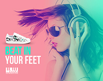 Beat in your feet. Emmat