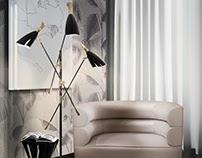 Mid-century Floor Lamps