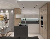 Visualization - living room, kitchen