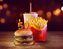 McDonalds Big Mac 50th Anniversary