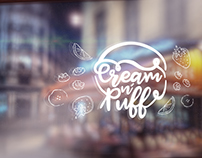 Cream n' Puff Branding and Packaging