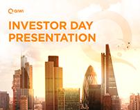 QIWI. Investor Day Presentation