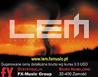LEM audio equipment by General Music