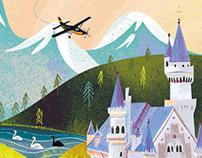 Book illustration for children