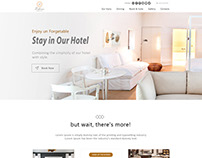 Zifan Website Mockup