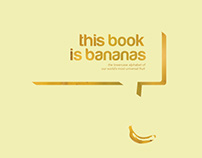 This Book is Bananas: Lowercase Alphabet