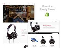 Mezzanine Shopify Theme