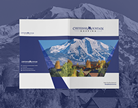 Cheyenne Mountain Roofing presentation folder