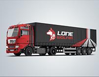 Lone Wolfim Logo Design
