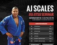 AJ Scales BJJ Seminar 2017