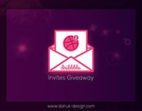 Dibbble Invites Giveaway