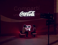 Coca Cola - The sharing billboard