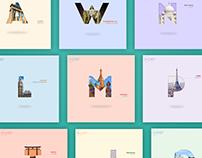 Capital Cities - Typography