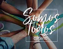 Festa de Confraternização Cateno • ID Visual e Tema