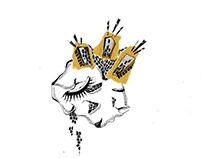 """Ilustraciones para """"Maya o Sangre"""""""
