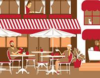 Ilustras - Café