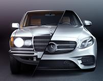 Mercedes-Benz E-Class | 3D Modeling | CGI