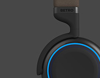 BETRO: Bluetooth Headphone with Manual Knob Control