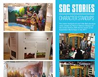 SDG Stories Character Standups World Expo