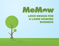 MeMow Logo Design