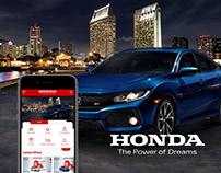 Honda Mobile App