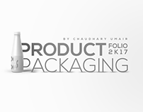 Product Packaging Design Folio