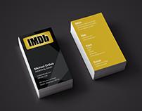 IMDb business card