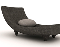 metla chaise lounge