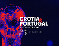 Crotia & Portugal World Cup Matchday Designs