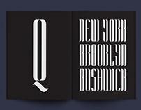 Typeface — Winson